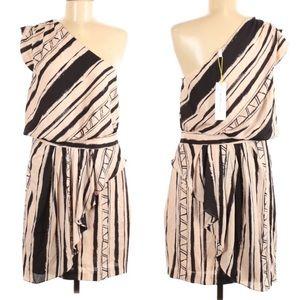 BCBGeneration One Shoulder Dress Size 12 New